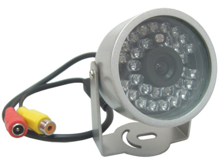 30 IR LED Night Vision Security CCTV Color Camera (PAL)
