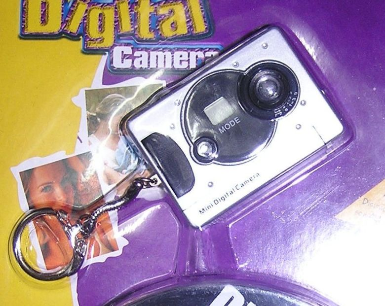Mini Digital PC Cam USB Spy Video Keychain Camera#2 NEW