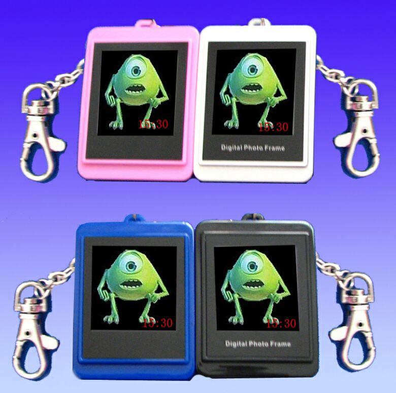 "1.5"" LCD Digital Photo Picture Frame Pendant Keychain"