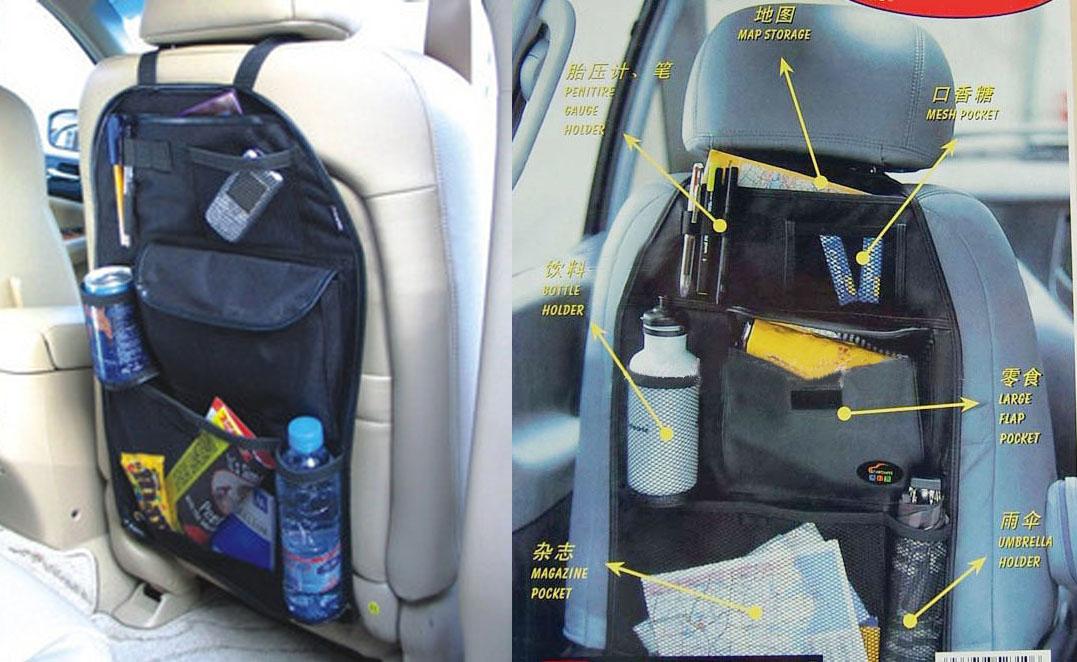 Car Van Trash Can Garbage Bag Litter Box Tissue Holder